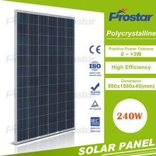 Roof mounting home use high efficient 240W Solar System,solar energy system