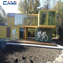 Customized excellent knock-down prefab container house for sale