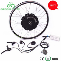 Greenpedel hot sell preferred 1000w electric bike conversion kit;bicycle motor kit