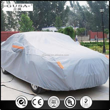 Hot selling sewing car cover/car protective shelter at factory price with free sample