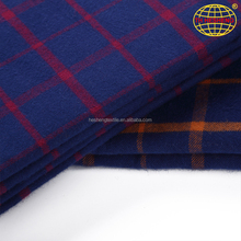 New design 100% cotton woven and plain yarn dyed shirting fabrics stocklot free sample
