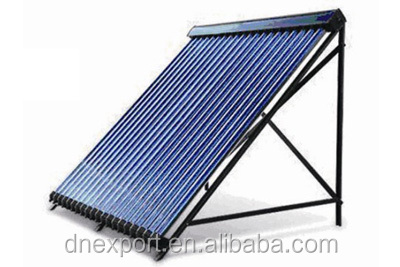 China Manufacturer Direct Flow Evacuated Vacuum Tube Solar Collector