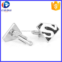 Fashion Knot Design Wedding Party Superman Cufflinks