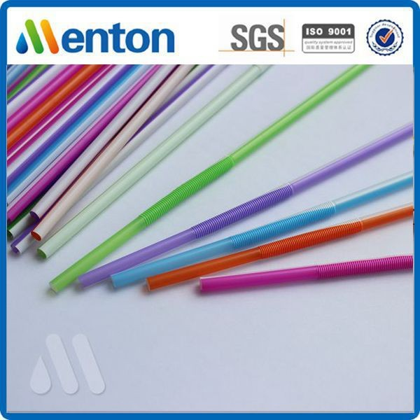hot sale colorful top grade hard plastic custom crazy straw