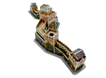 3D paper stereo puzzle World famous architecture The Great Wall model