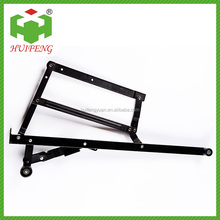 Folding sofa bed mechanism,Storage box hinge for furniture HF-080A