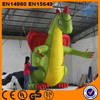 2015 New Design Giant Green Inflatable Dragon