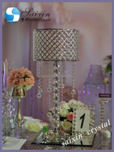 Bling crystal wedding centerpieces with lampshade ZT-256C