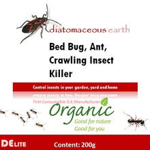 DElite Natural Diatomite Powder Chemical Free Pest Killer Give You A Bug-free Living Environment
