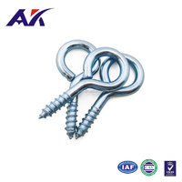 Zinc Plated Metal Closed Eye Screws