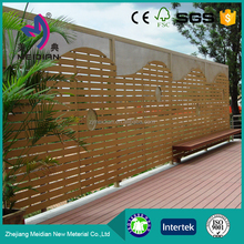 water resistance Wholesales wpc temporary fence removable fence temporary fencing