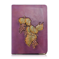 Genuine Leather Carving phone case for iPad 5/mini
