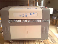 GH-6090 cloth and paper laser cutter