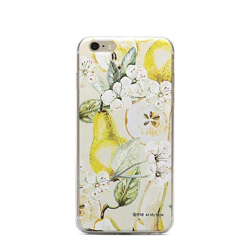 "Floral 5.5"" TPU phone case for iphone 6 plusvcase 3D print Customized cellphone case"