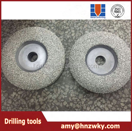 zhengzhou cutting disc Vacuum Brazed Diamond Wheel(Grinding Disc)/stone tool/diamond cutting disc,abrasive