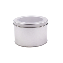 Empty Metal Seamless Candle Tin Box <strong>Container</strong>