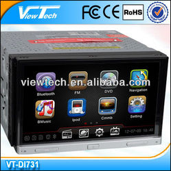 2 Din Car Gps navigation with built in dvd