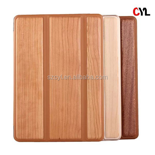 Wood series case for ipad air 2/ Leather case for ipad air 2/ New case for ipad air 2