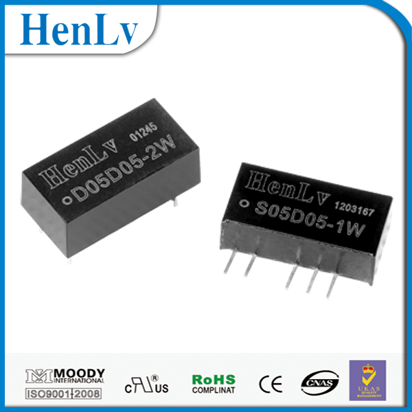 Online shopping fixed voltage isolation unregulated PCB mounted dc dc converter 3.3V, Car buck DC transformer