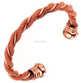 Lead and nickle free Magnetic Copper Bangle