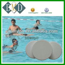 chlorine dioxide tablet instead of copper sulfate tcca water treatment chemical