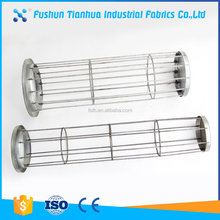 High Quality Industrial Dust Collector Filter Bag Cage with Venturi
