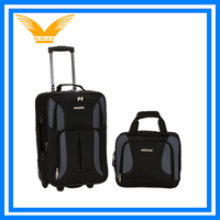 travel luggage cases with pulley Travel scooter bag trolley suitcase