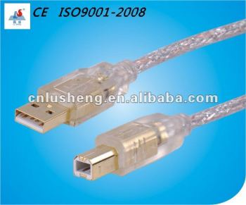 LSC002 USB2.0 CABLE AM/BM GOLD