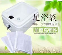 Disposable Foot Barrel Bags Tub Liners Basin Bags for Pedicure Spa