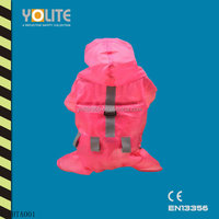 pink waterproof reflective safety dog vest