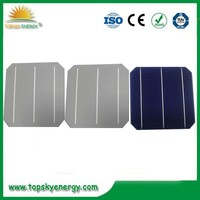high efficiency , top quality , 125mm*125mm mono 5v solar cell