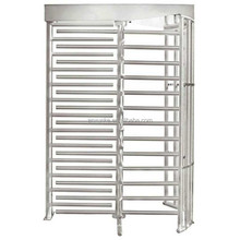 High Security Entrance Control Full Height Turnstile with fingerprint