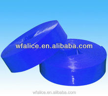 coiled and high flexibility pvc lay flat hose layflat pipe water pipe