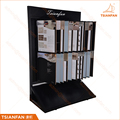 OEM ODM Custom Floor Stand Ceramic Tile Samples Wing Display Stand