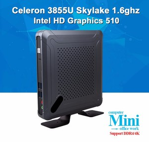 wholesale 3855u 4K mini pc with rs232 micro pc mini computer windows10 mini pc HD Graphics 510 for office work home living