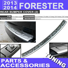 2013 2014 Forester Rear Bumper Cover Protect For 2.5i 2.5i Premiun 2.5i Limited 2.5i Touring 2.0XT Touring 2.0XT Premiun Tuning