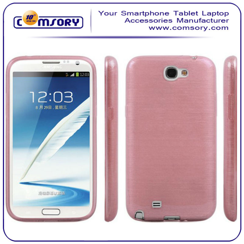 for Samsung Galaxy Note II N7100 soft silk pattern phone case cover