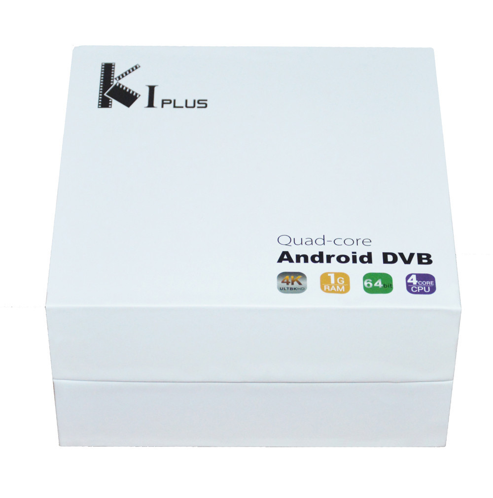 K1 Plus Amlogic S905 Quad Core DVB-S2 DVB-T2 Android 5.1 4K H.265 FULL HD Smart TV Box