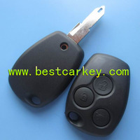 Shock Price 3 button 434mhz key for renault remote key with NE73 blade car remote key