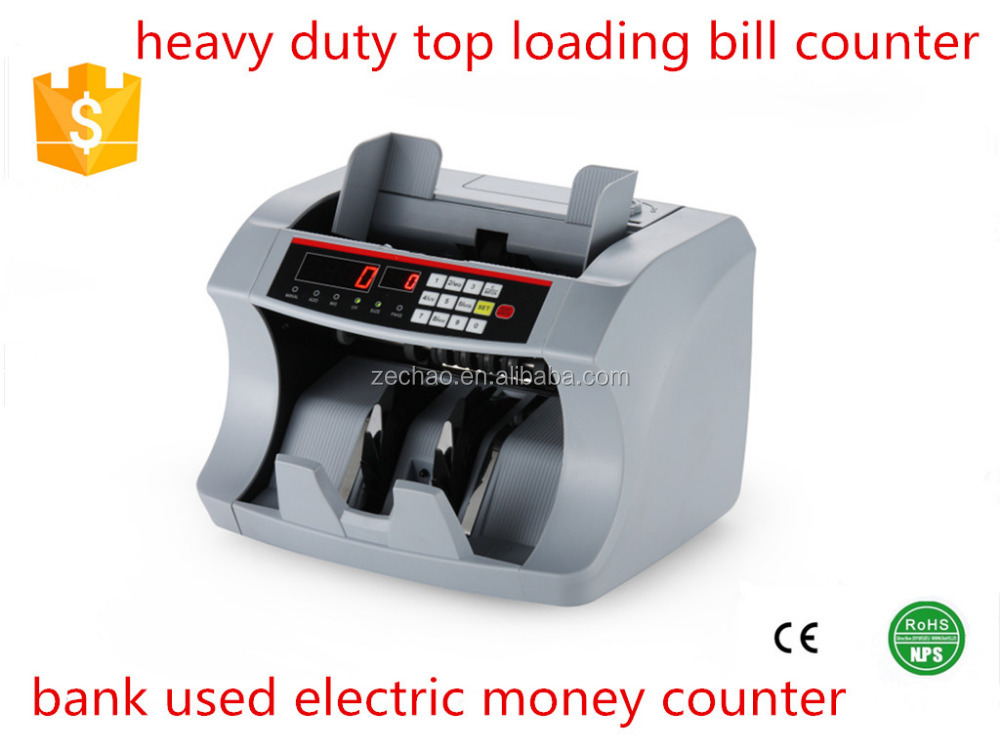 heavy duty money counter multi currency counting machine high quality hot selling bill counter