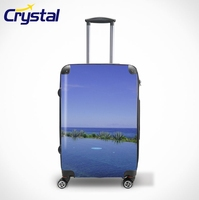 2015 Girls Eminent Airport Trolley Travel ABS PC Luggage/Suitcase/Backpack/Bags