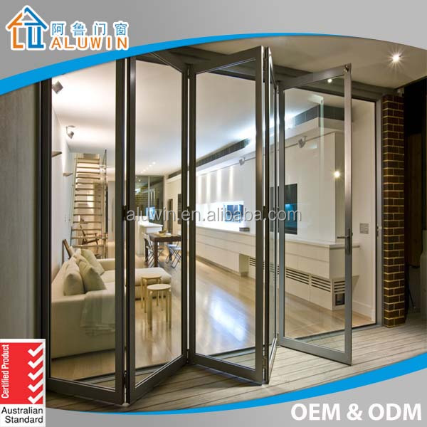 Double glazed aluminium folding patio doors prices buy for Double glazed patio doors sale