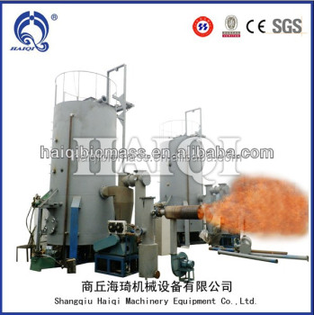 200kw no tar rice hull gasification biomass stove biomass gasifier with downdraft fixed bed
