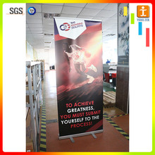 Digitally printed telescopic aluminum frame pull up banner
