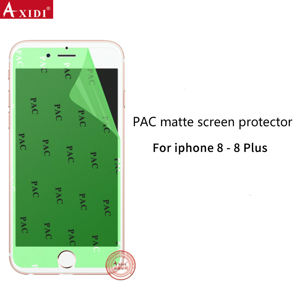 2017 Promotion Ultra Clear Matte Anti-oil PAC Screen Protector Not Tempered Glass for Iphone8