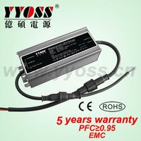 60W 24V EMC PFC(0.95) 5050 SMD LED Strip Power Supply YSHV-60-24