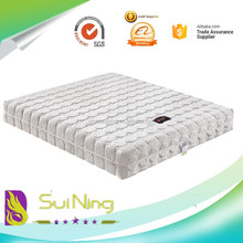 roll springless bed latex foam vacuum packed china mattress