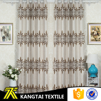 Suzhou Kangtai textile manufacture imitation linen fabric hometextile curtain fabric for hotel