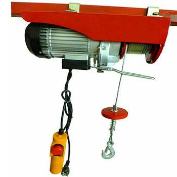 Hot Selling Industrial equipment pa 200kg 220v wire rope small oeverhead electric hoist