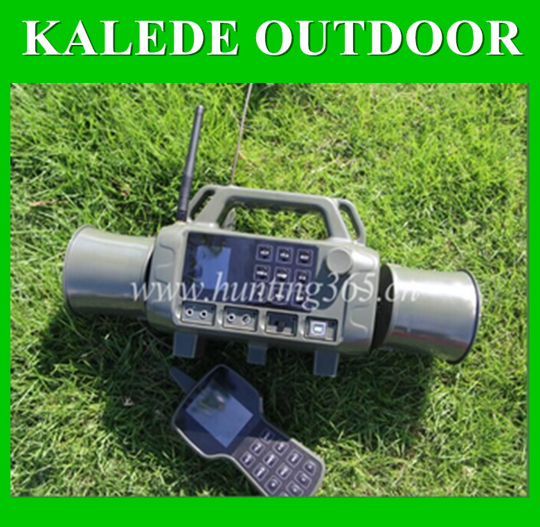 Game calls hunting bird call 2*10w speakers 400 sounds